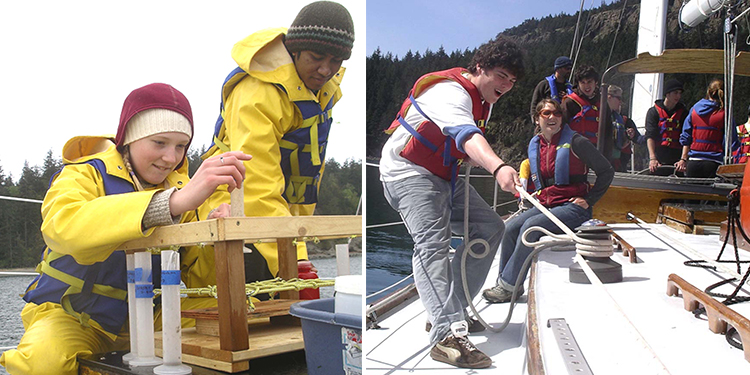 "BHS Teacher Ranks Salish Sea Expeditions as ""the best educational experience that I've ever been able to provide my students"""