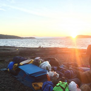 Sunrise on Sucia Island