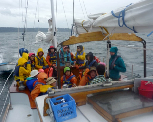 Salish Sound is a boat-based science and sail program