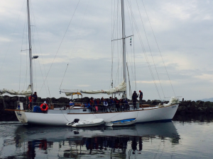 S/V Carlyn heading out