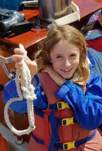 Master of the bowline knot