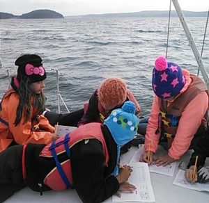 Journaling science on the bow