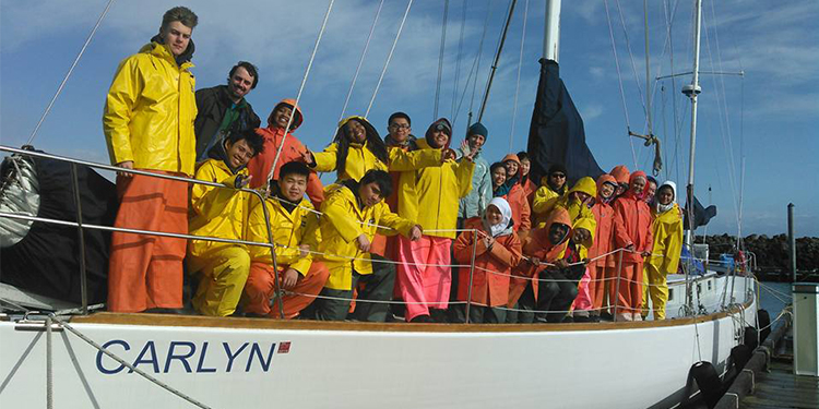 Carlyn and Kids with Salish Sea Expeditions